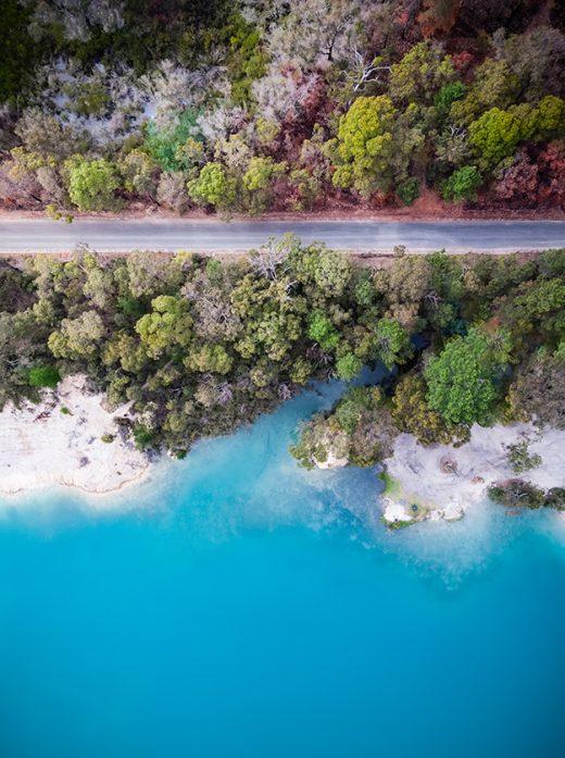 Black Diamond Lake, Collie, Western Australia, Photo, Print