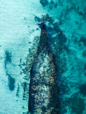 From Miles Away - Omeo Shipwreck, Fremantle, Western Australia