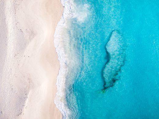 Shelly Beach, West Cape Howe, Albany, Western Australia, Drone