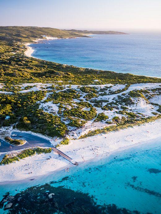Hamelin Bay, Western Australia, Drone