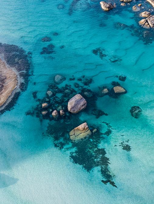 Greens Pool, Denmark, Western Australia, Drone