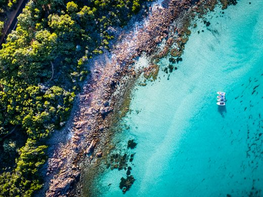 Eagle Bay, Dunsborough, Western Australia, Drone