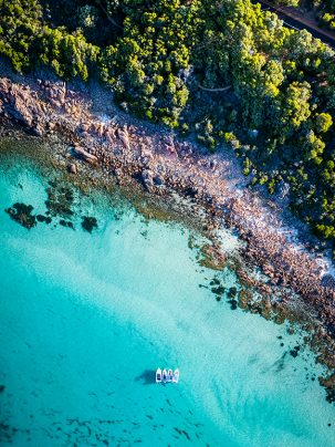 Eagle Bay, Dunsborough, Western Australia, Drone