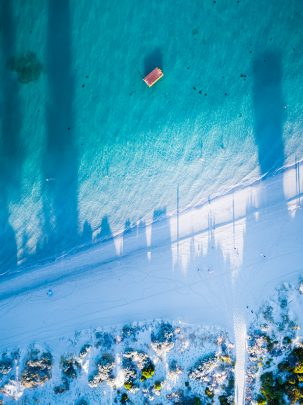 South Beach, Fremantle, Western Australia, Drone, From Miles Away