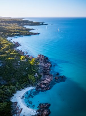 From Miles Away - Castle Rock, Dunsborough, Western Australia, Drone