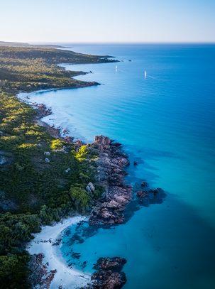 From Miles Away - Castle Rock, Dunsborough, Western Australia, Drone