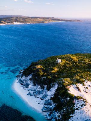 From Miles Away - Hamelin Island, Hamelin Bay, Western Australia, Drone