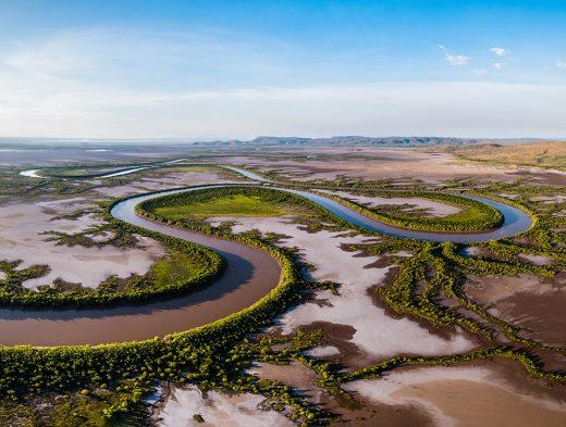 King River, Wyndham, Western Australia, Aerial, Print, Broome, The Kimberley, Kununurra