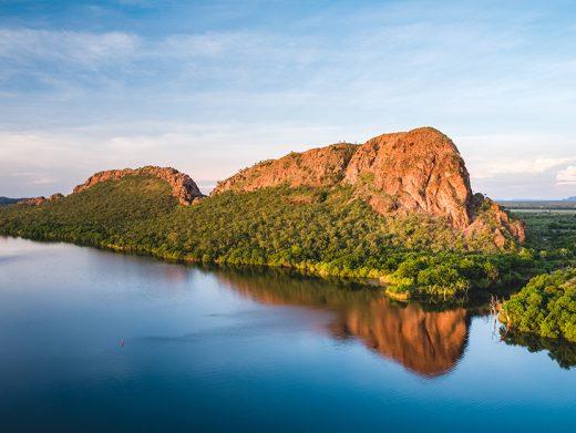 Ord River, Elephant Rock, Kununurra, Kimberley, Western Australia, Drone, Aerial, Print, From Miles Away,