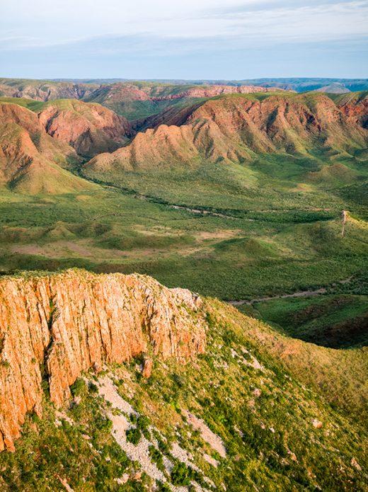 Carr Boyd Range, Lake Argyle, Western Australia, Kununurra, Drone, Aerial, Print, From Miles Away