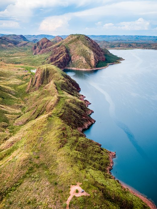 Lake Argyle, Kununurra, Western Australia, Gibb River Road, Kimberley, Drone, Aerial, Print, From Miles Away
