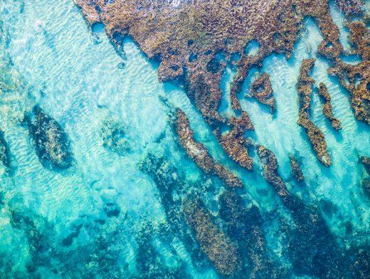 North Cottesloe Reef, Perth, Western Australia, Drone, Salty Wings, From Miles Away, Aerial, DJI, Print