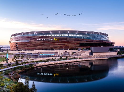 Optus Stadium, Perth, Western Australia, Drone, Sky Perth, From Miles Away, Print, Aerial, Print, Fitzgerald Photo