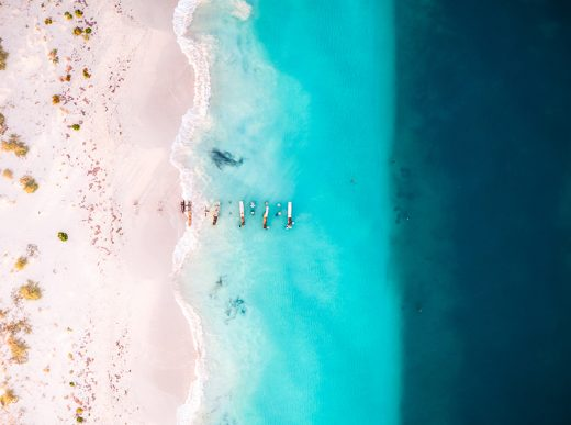 Jurien Bay, Western Australia, Aerial, Drone, Salty Wings, From Miles Away, Print,