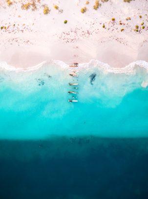 Jurien Bay, Western Australia, Aerial, Drone, Salty Wings, From Miles Away, Print,