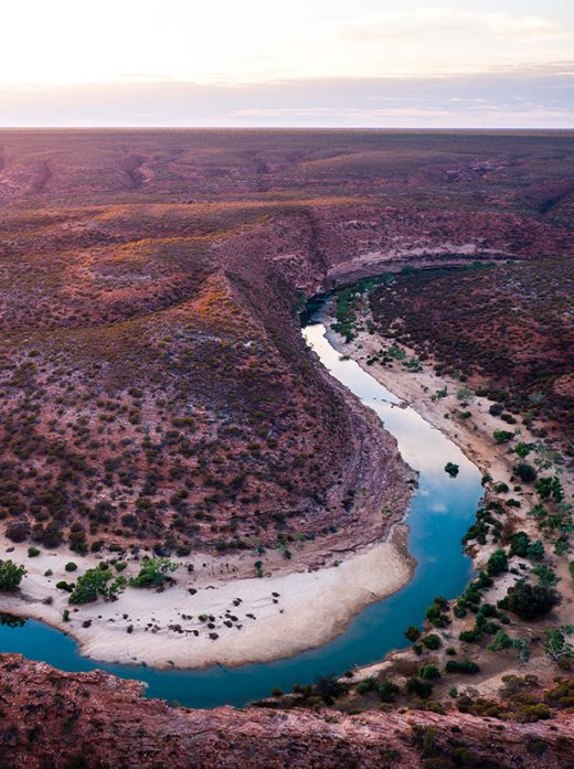 Kalbarri Gorge, Western Australia, Drone, From Miles Away, Aerial, Salty Wings