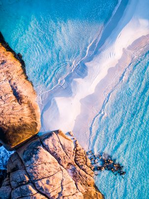 Wylie Bay, Esperance, Western Australia, Drone, Aerial, From Miles Away, Salty Wings