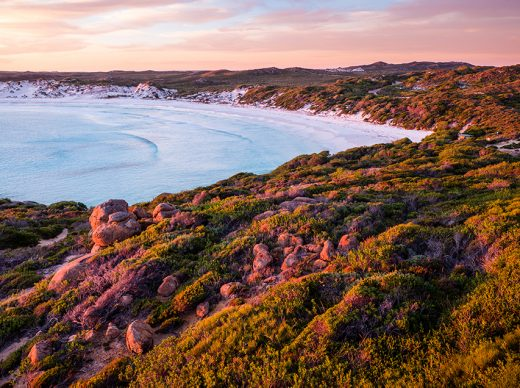 Wharton Beach, Esperance, Western Australia, Drone, Sunset, Aerial, Beach, Salty Wings, From Miles Away