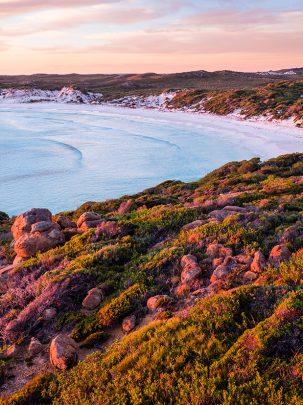 Wharton Beach, Esperance, Western Australia, Drone, Sunset, Aerial, Beach, Salty Wings, From Miles Away
