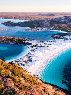 Duke Of Orleans Bay, Esperance, Western Australia, Drone, Aerial, Salty Wings, From Miles Away, Print
