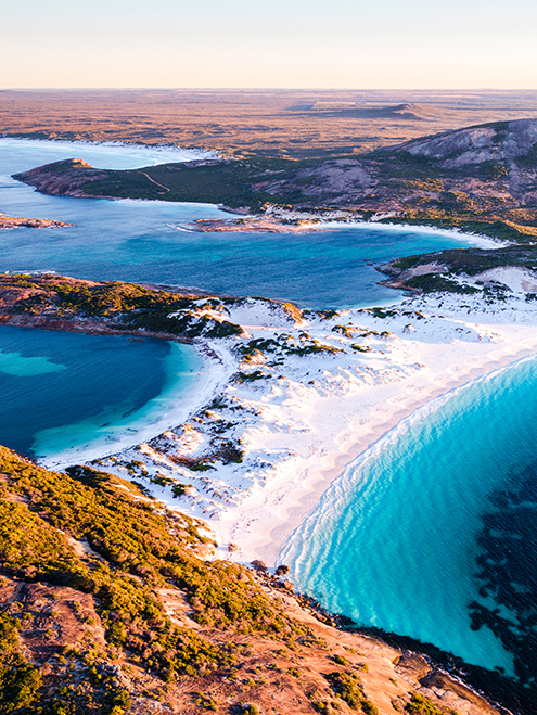 Duke Of Orleans Bay, Esperance, Western Australia, Drone, Aerial, Salty Wings, From Miles Away, Print
