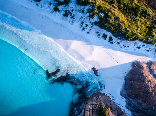 Thistle Cove, Cape Le Grand, Esperance, Western Australia,Drone, Aerial, Salty Wings, From Miles Away, Print