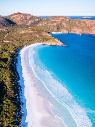 Hellfire Bay, Cape Le Grand, Esperance, Western Australia, Drone, Aerial, Salty Wings, From Miles Away, Print