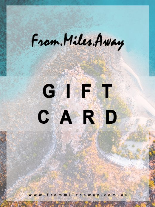 Gift Card Voucher for photography print from Western Australia